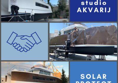 oblijepljivanje broda - Digitalni Studio AKVARIJ & Solar Protect